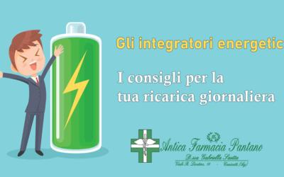 Fai il pieno di energie con gli integratori energetici !